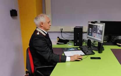 Carabinieri in Dad fanno lezione di legalità