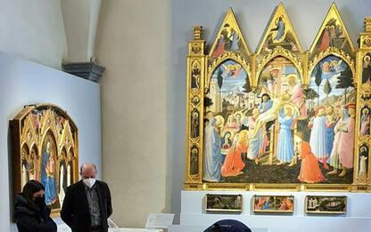 Dante700, San Marco presta 'Giudizio' del Beato Angelico