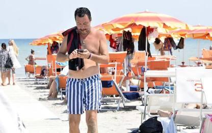 Figlio di Salvini sulla moto d'acqua, archiviata la scorta