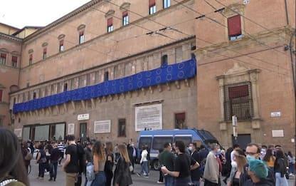 Festa dell'Europa, a Bologna una bandiera lunga 50 metri