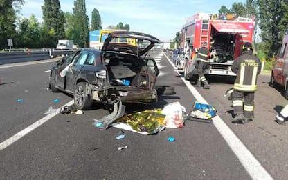 Auto investe capriolo, morta la donna al volante