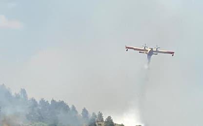 Incendi: P. Civile, oggi 25 richieste d'intervento aereo