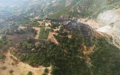 Incendi: 3000 ettari in fumo nel Sassarese che brucia ancora
