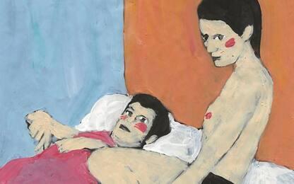 A Ulassai diario del lockdown della pittrice Narcisa Monni