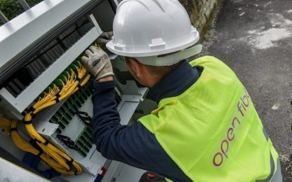 A Nuoro nuova rete fibra ottica, investimento di 4 mln