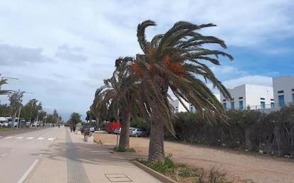 Maltempo: arriva burrasca in Sardegna, maestrale a 100km/ora