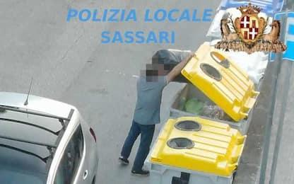 Rifiuti: video-trappole a Sassari, elevate 34 sanzioni