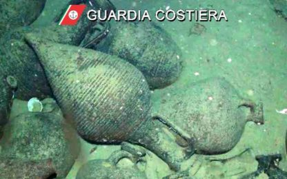 Un occhio elettronico sorveglia reperti su fondali Asinara