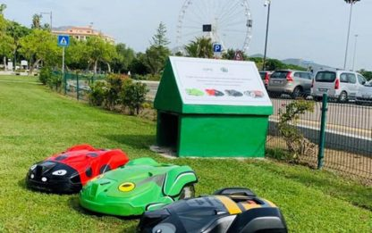 Robot taglia erba a Olbia, autonomi ed ecologici