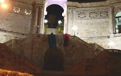 Covid: tricolore bruciato a Cagliari, indagato studente