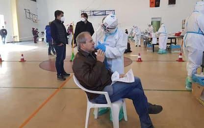 Covid: screening Regione Sardegna dal 6 febbraio nel Nuorese
