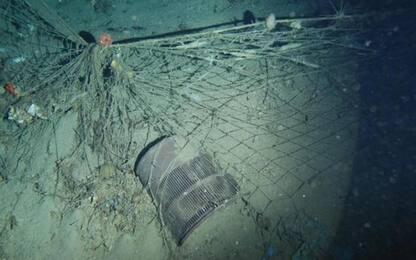 Rifiuti sui fondali marini, è emergenza nel Meditarraneo