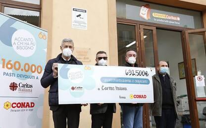 Oltre 100mila euro da Conad alle Caritas della Sardegna