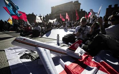 Air Italy: doppia protesta lavoratori a Roma e Cagliari