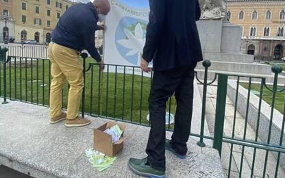"""Attivisti pro cannabis in piazza in 8 città, """"legalizzatela"""""""