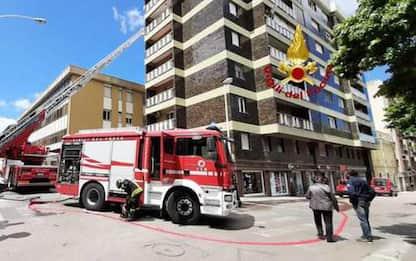 Incendio in appartamento a Sassari, la casa era vuota