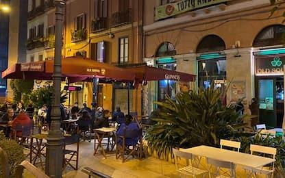 Covid: col giallo a Cagliari aree pedonali e tavoli fuori