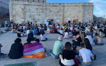 Omofobia:in centinaia a Cagliari contro ogni discriminazione