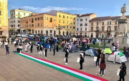 Covid: tende di nuovo in piazza a Sassari sabato 22