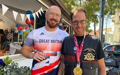 Paralimpiadi:Pembroke dona sua medaglia d'oro a ragazzo Down