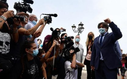 Puigdemont: bagno di folla ad Alghero per festa catalana