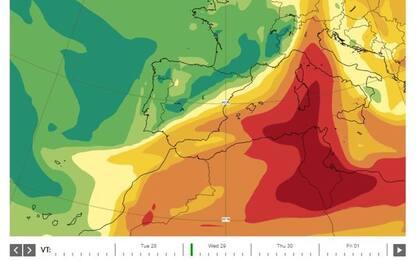 Eruzione Canarie: nube vulcanica sfiora centro-sud Italia