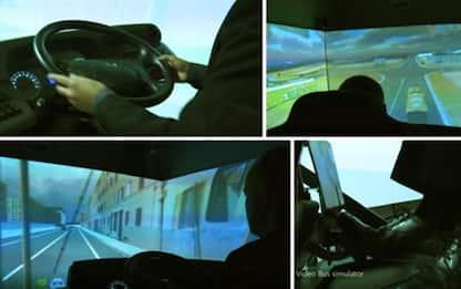 Simulatori di guida perfezionano logistica in porti e strade