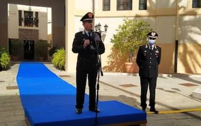 Carabinieri: visita generale Burgio a Legione a Cagliari
