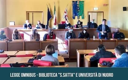 """Sciolte Biblioteca e Università Nuoro,Soddu grida """"vergogna"""""""