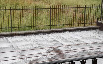 Maltempo: pioggia e grandine a Campobasso