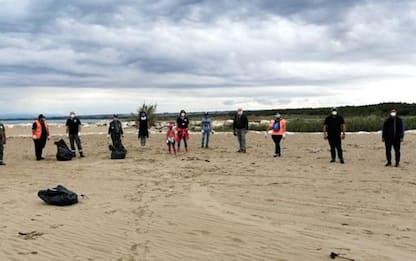 Clean Saturday in spiaggia a Campomarino.Tanti i rifiuti