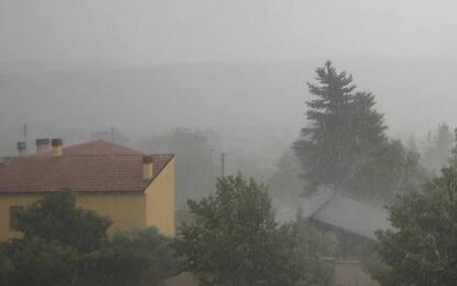 Bomba d'acqua a Campobasso, temperatura in picchiata
