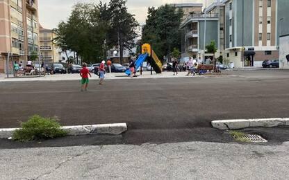 Comune Termoli realizza parco giochi in ex area mercatale