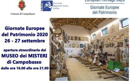 'Giornate Patrimonio': apertura straordinaria Museo Misteri