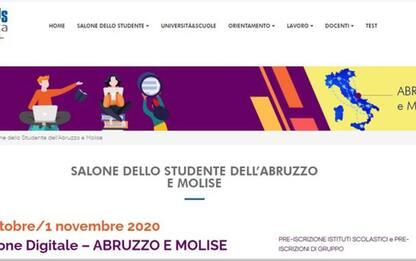 Salone Studente di Abruzzo e Molise sarà online, al via il 26