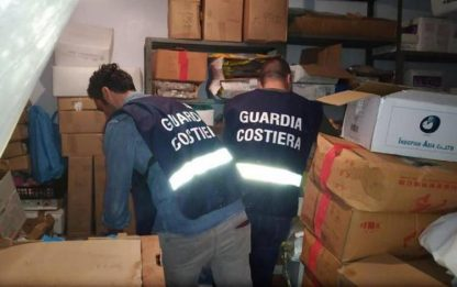 Guardia Costiera sequestra 1.620 kg di pesce
