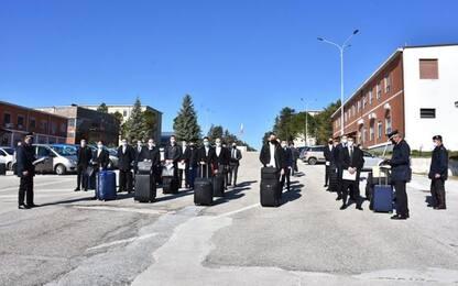 Carabinieri: in 250 a corso formazione scuola di Campobasso