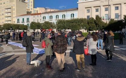 Covid: protesta sotto Procura Campobasso,accelerare indagini