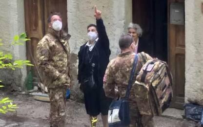 Vaccini a domicilio,suora 'scorta' Esercito a Scapoli