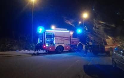 Incendiata discarica a Reggio Calabria