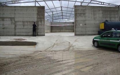 Carabinieri sequestrano capannone industriale in costruzione