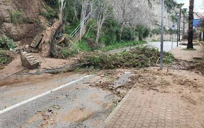Maltempo: danneggiata da pioggia rupe di Tropea