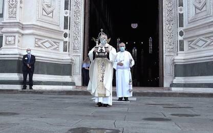 Benedizione da sagrato Santa Croce