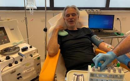 Bocelli dona plasma, 'ho avuto Covid'