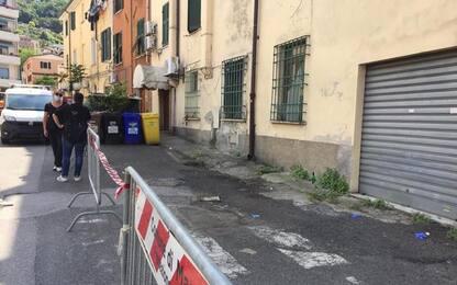 Cedimento strada a Massa, 3 palazzine inagibili