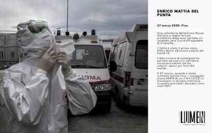 A Pisa foto-manifesti su muri per ricordare emergenza Covid