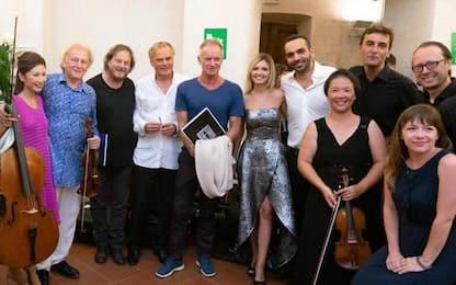 Sting e Zucchero tra pubblico 'Pietrasanta in Concerto'