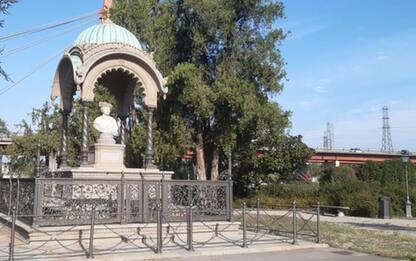 Parco delle Cascine, restaurato il monumento all'Indiano