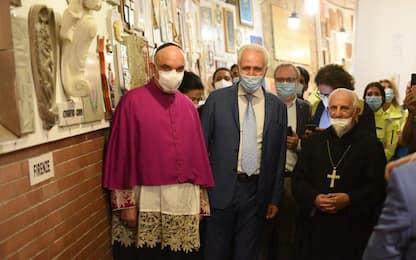 Giani visita Madonna Montenero, poi con Comuni e lavoratori