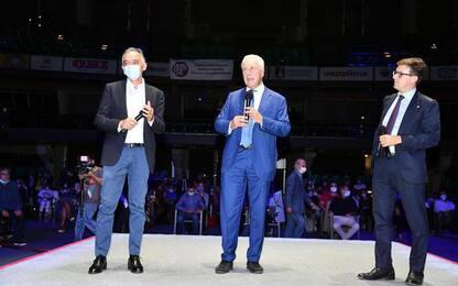 Festa per Giani a Firenze con Zingaretti e Renzi